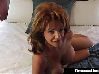 Prex dispirited mom Deauxma Dildo Bangs the brush Pussy & Cums!