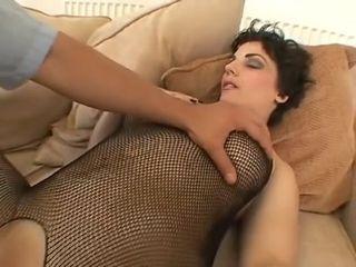 Kinky pornographic star in exotic cum-shots, facial cumshot adult episode