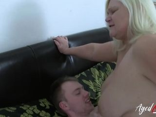 AgedLovE hard-core with warm Mature Lacey Starr