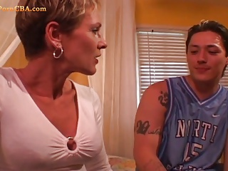 Hot mature riding big cock