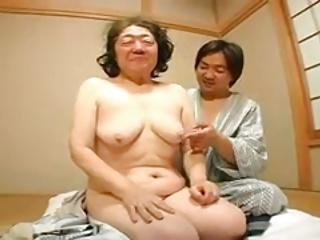 asian granny fucked