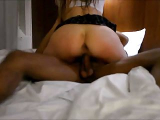Finnish big black cock bitch getting the edible