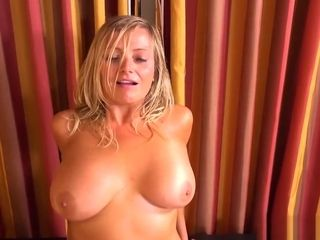 Huge-titted light-haired cougar inhales and pounds fresh plaything