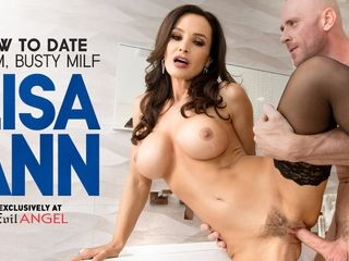 Lisa Ann in How To appointment Glam, buxomy cougar Lisa Ann - EvilAngel
