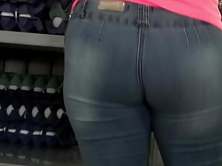 Latina Ass at Shop 2