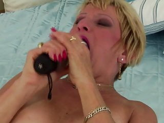 This mature mommy is horny but you will like her