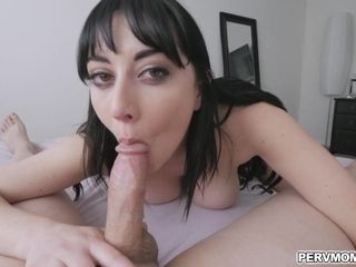 Son-in-law pummels stepmoms cock-squeezing vagina