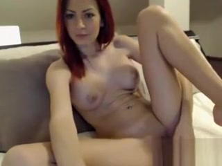 Uber-sexy cougar sandy-haired on cam