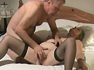 MILF in stockings is fingered on hidden camera