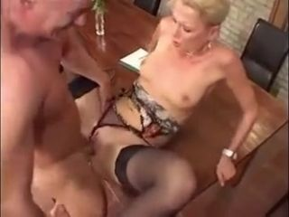 German Milf chief honcho Fucked fixed