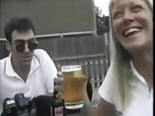 Interracial man fucks husbands wife