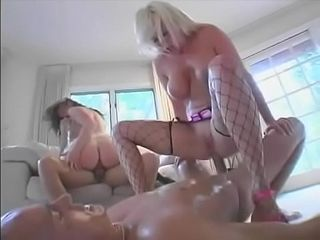 Marvelous double penetration skanks enjoy getting dual vaginal and powerful facials with Jаmie Brooks and Isabella Soprano