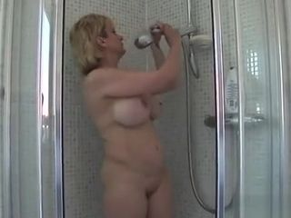 Hotwife brit cougar doll Sonia Flaunts Her phat milk cans