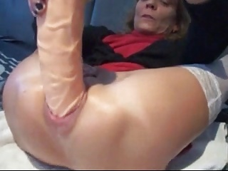 Mt sexy piercings - pierced granny with huge anal toy