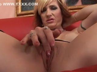 Epic pornostar Brittany Blaze in horny pantyhose, fetish porno clamp