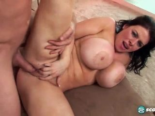 Thick jugged mega-bitch Titsjob pornography