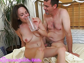 Tiny MILF Has Multiple Orgasms While Brutally Fucked By BWC