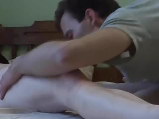 Crushed pussy with an increment of irritant become man