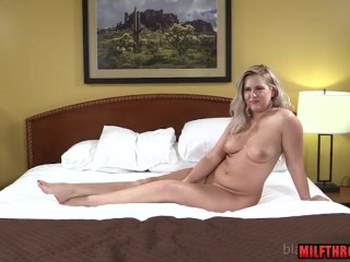 Fat knockers milf interracial together with creampie