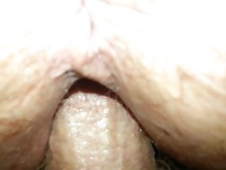 My wife getting creampied