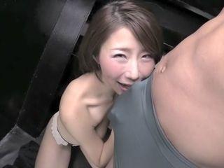 Insatiable asian female in unbelievable hj, cougar JAV video