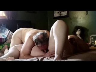 Tonguing and plowing my ginormous wifey