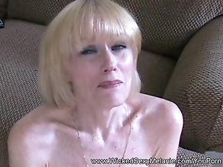 Wicked Sexy Melanie Uses Her Body