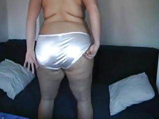 Satin Panty Ass 1