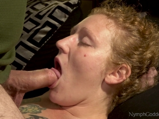 All-natural ginger-haired cougar Ivy Face plumbed by spouse with pulsing jism in hatch