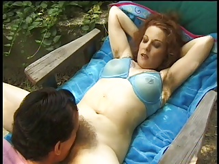 Hairy and Tattooed Milf Fucking  A Cock In Her Tight Hole