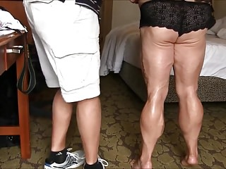 Plumper muscled gams