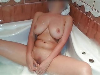 Romanian wifey and spouse have fun in the super hot bathtub