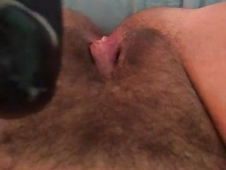 Monstrous black cock fake penis bangs monstrous slit