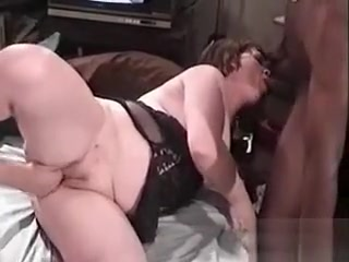 Mouth-watering plump cougar luvs rigid and naughty