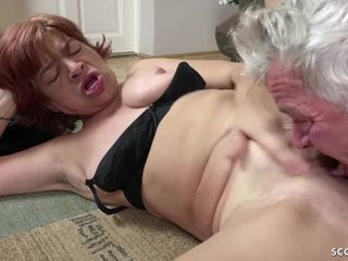 STEP sonny lure gross furry grandmother TO smash AND guzzle jism